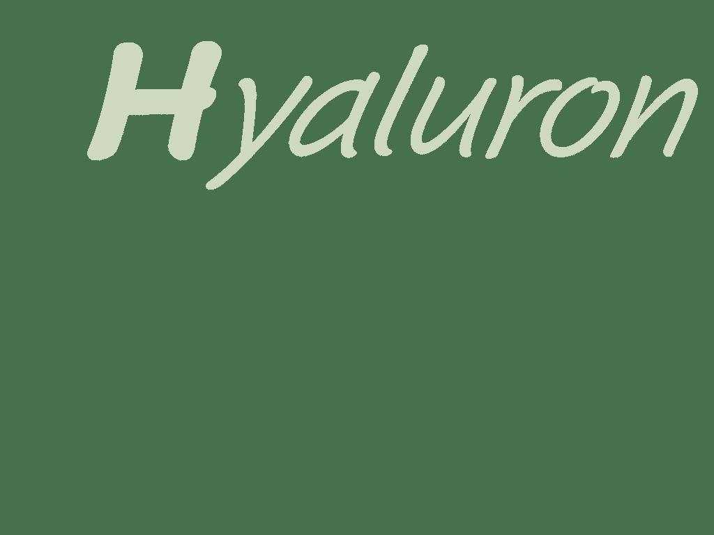 hyaluronsäure bzw hyaluron gegen Falten